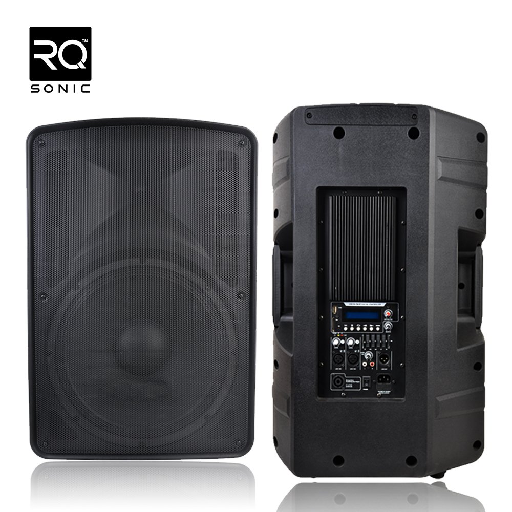 1000w Pop PA Active Sound Speakers Box CSN15APUSBQ-BT