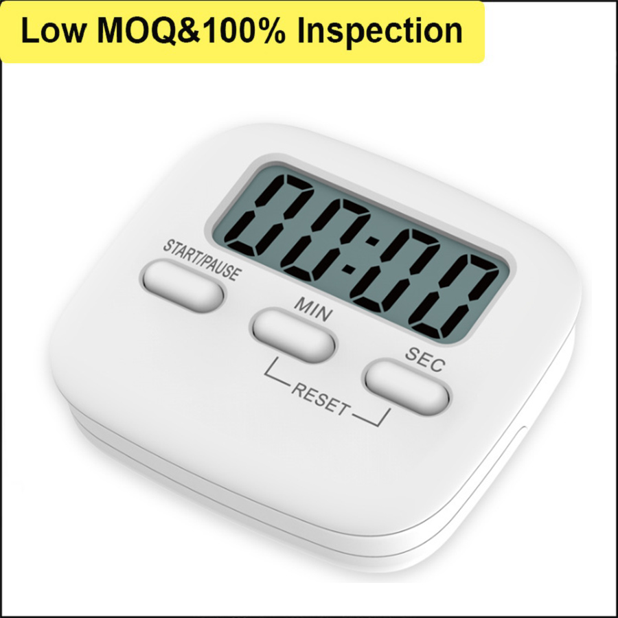 Factory Supply Simple Cooking Shower Gym Stopwatch Promotional Custom Timer