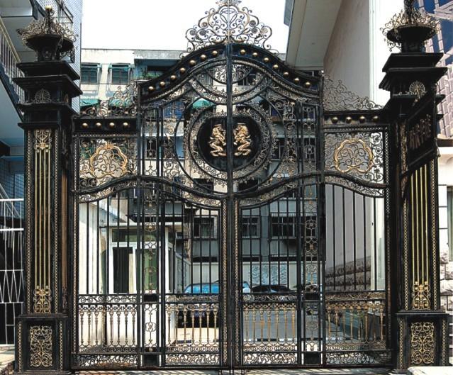 Modern Driveway Wrought Iron Gates Design Models Gate Product On Alibaba
