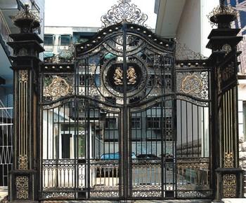 Modern Driveway Wrought Iron Gates Design/models - Buy ... on Iron Get Design  id=64415