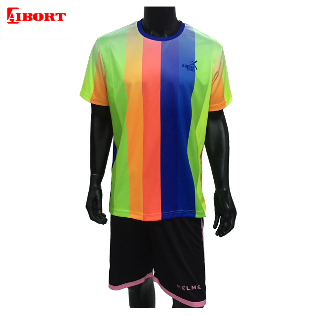 Sublimation customized fluorescence t shirt