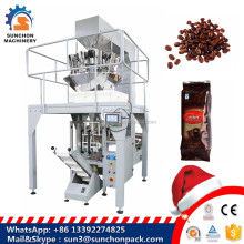 Multihead Weigher Automatic Coffee Beans Packing Machine Price