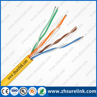 4pairs NETWORK CABLE UTP CAT5E with CE ROHS UL standard