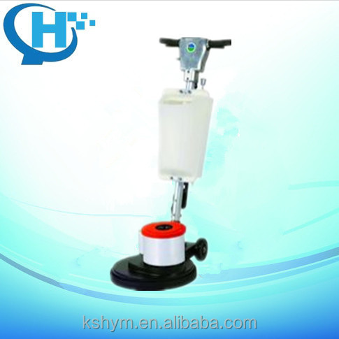 Orange Metal Handle Industry Shopping Mall Wax Eccentric Disc Multifunction  High Quality Floor Cleaning Machine