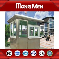 china OEM Stainless Steel security guard house design