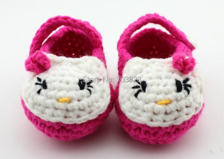 crochet baby sandals first walker shoes infant handmade walker