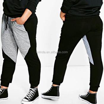 a384a15ac0 Men jogger pants Hip Hop Harem Pants Color Block Plus Size Jogger Sports  Trousers Korean Style