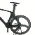 2018 700c New Carbon 8.6kg track/fixed gear Bike with tri spoke full carbon fiber UD matte clincher wheel with bike pedals