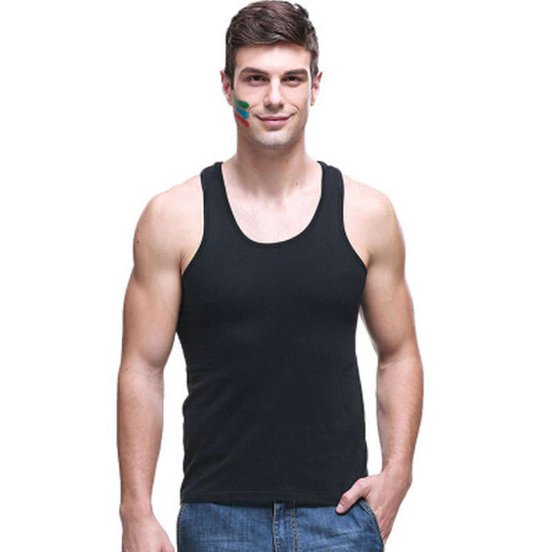 a50a93db9d313 Get Quotations · summer style Superman Gym Singlets Mens O-Neck Tank Tops  Undershirt Bodybuilding Fitness Men Golds