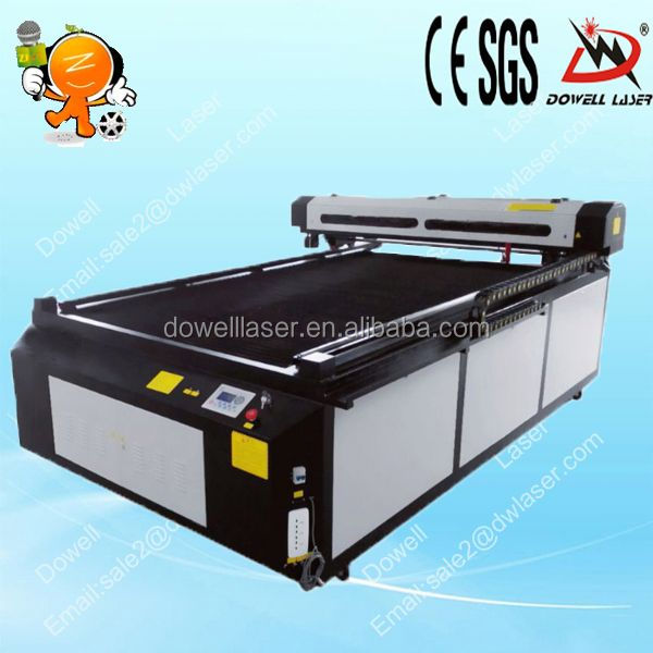 laser cutting machine for fabric flower with CE,CIQ of DW-1325