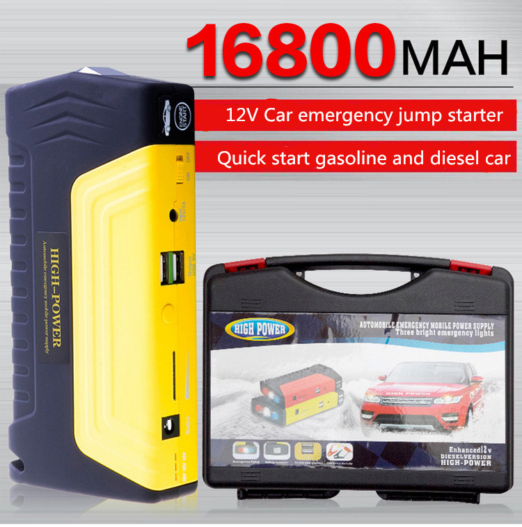 Road Boost Rechargeable Portable 15000mAh Car Jump Starter Power Bank car jump starter