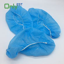 FDA CE ISO Standard Daily Life anti skid Disposable PE shoe cover overshoe
