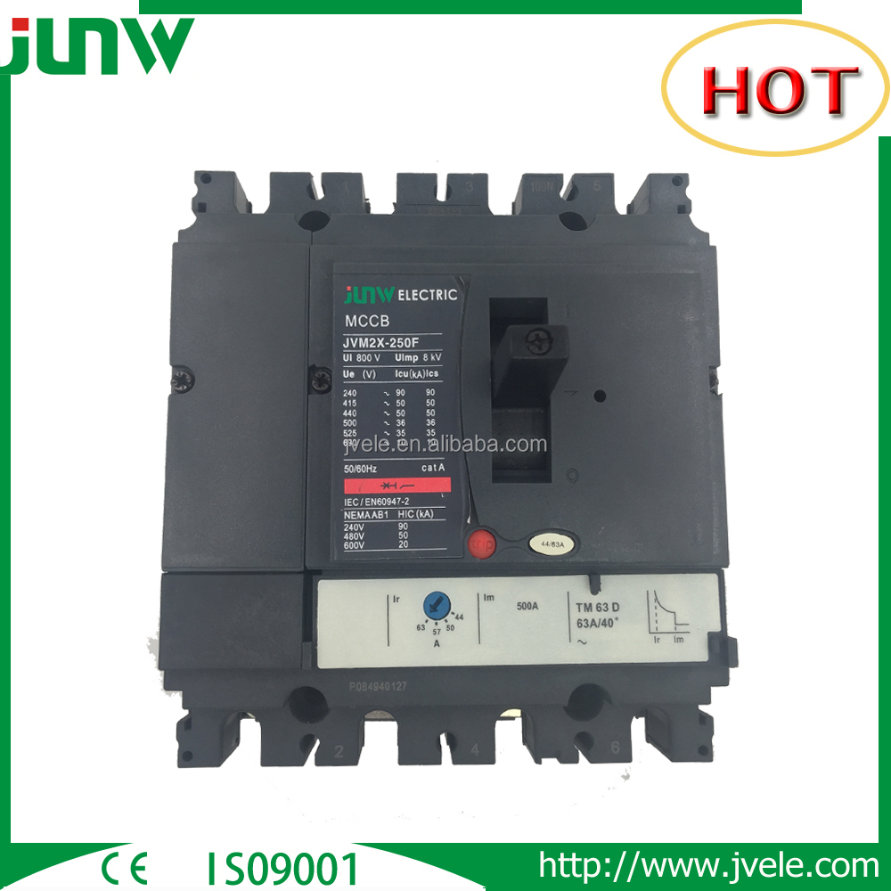 JVM2X-250 NSX-250 250A Molded Case Circuit Breaker From China Professional Manufacturer
