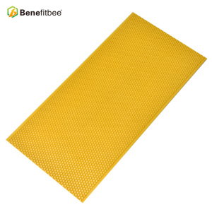 Good yellow plastic bee hive frames foundation for bee keeping hive