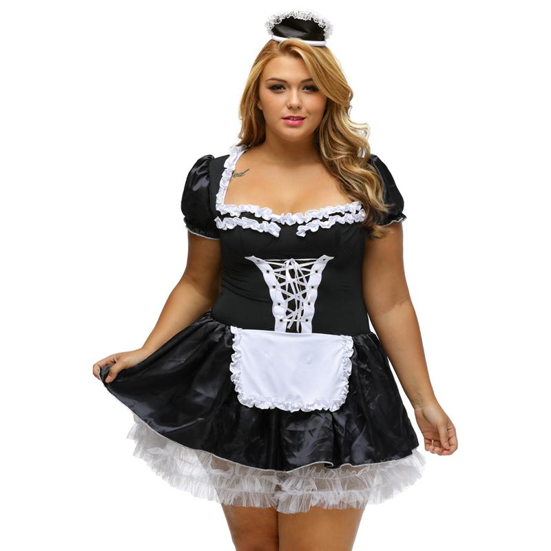 Plus Size Sexy School Girl Costume