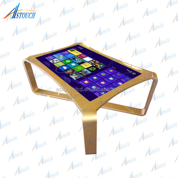 Interactive Water Proof Touch Screen Lcd Android Coffee Table With - Android coffee table