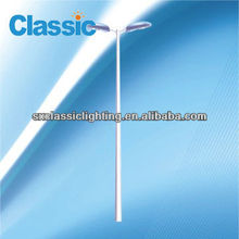 60w h steel post street lighting pole