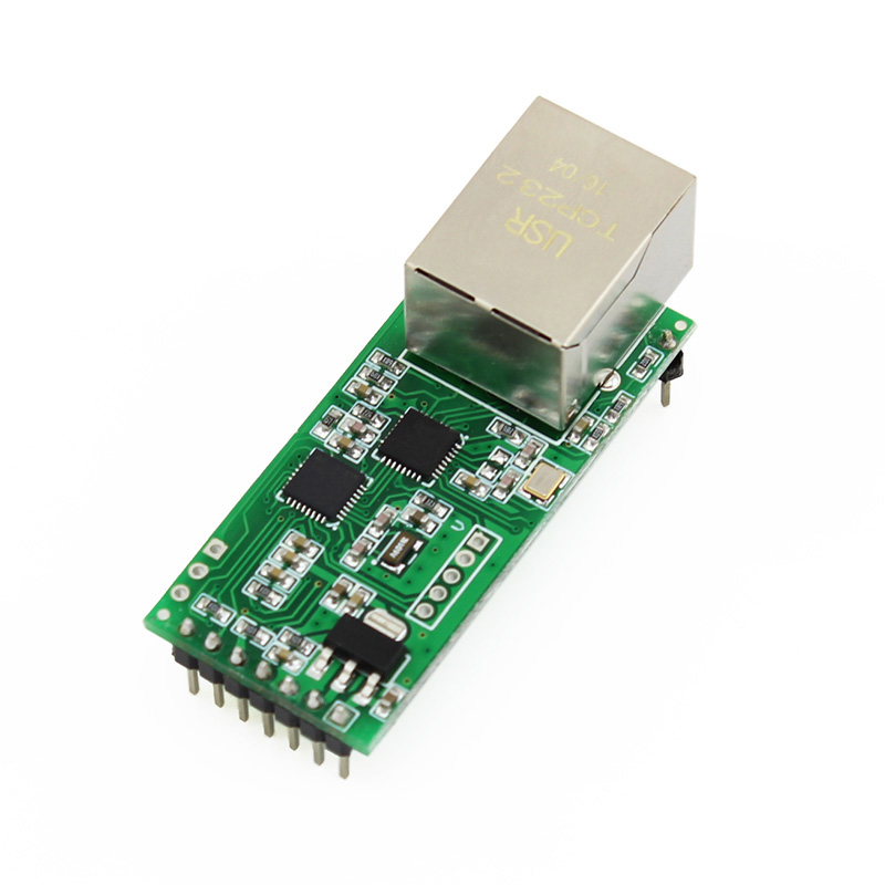 rs232/485 Serial Ethernet Modules UART Port with HTTPD Client/DHCP/DNS