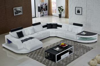 2015 New Sofa Design Modern Leather Sofa