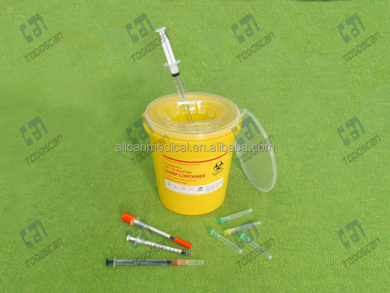 sharps collector for syrings, lancets and needles 1.5L R series