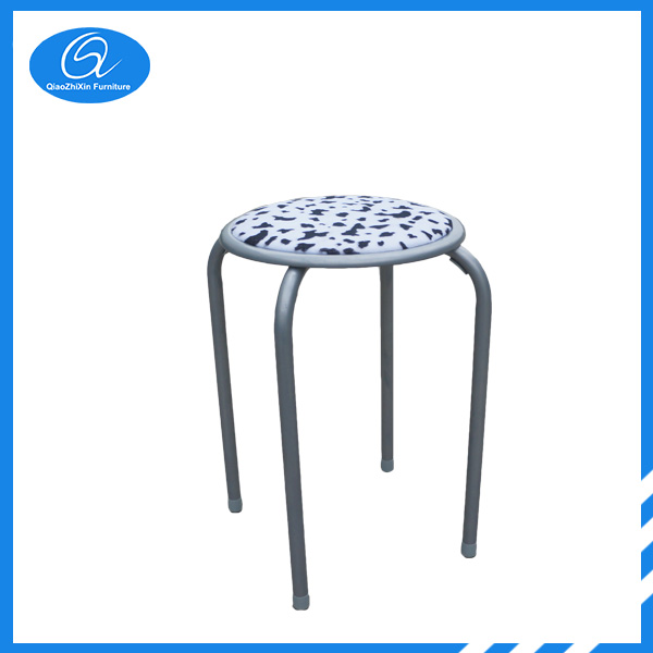 Metal Stacking Round Stool