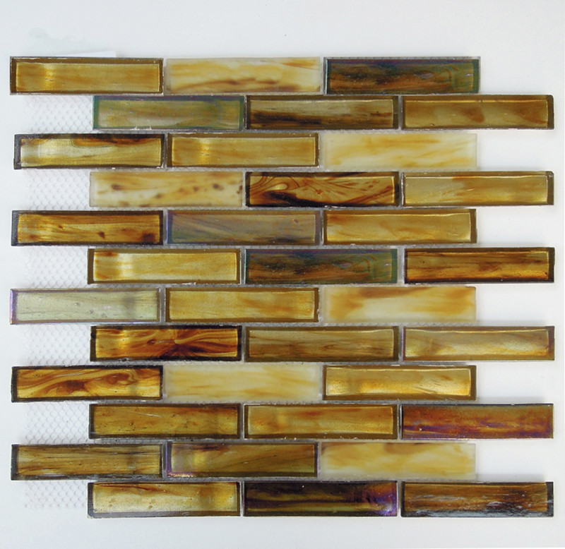 new design recycled glass mosaic glass tiles for bathroom kitchen tiles