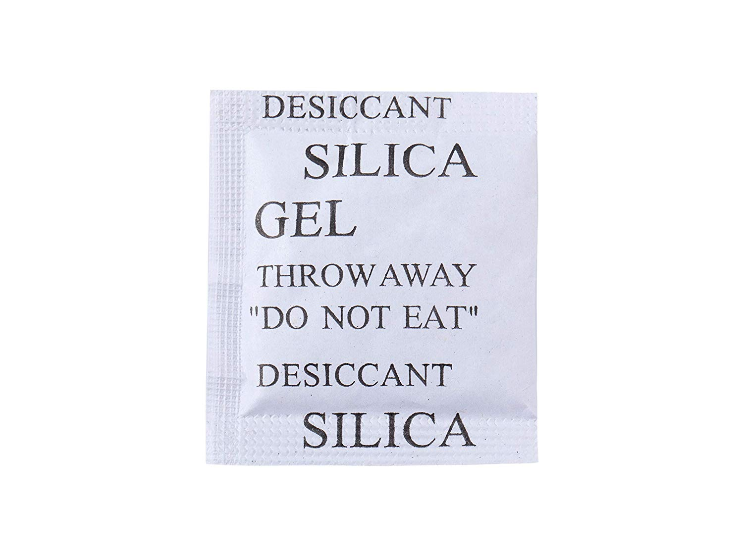 (100packs) 3Gram Silica Gel Desiccant Packet dehumidifiers,Moisture Proof Dry Bags