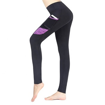 5a12b536482567 Amazon hot sales high waist out pocket yoga pants xxxx sexy girls picture  fitness clothing