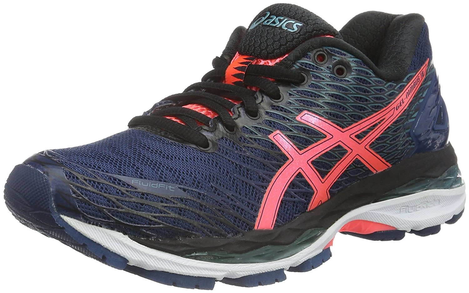 66936297b987 Get Quotations · Asics Gel-Nimbus 18 Ladies Running Shoes