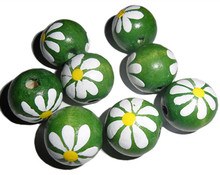 Custom cheap corlorful decoration wooden balls, kids toys wooden beads