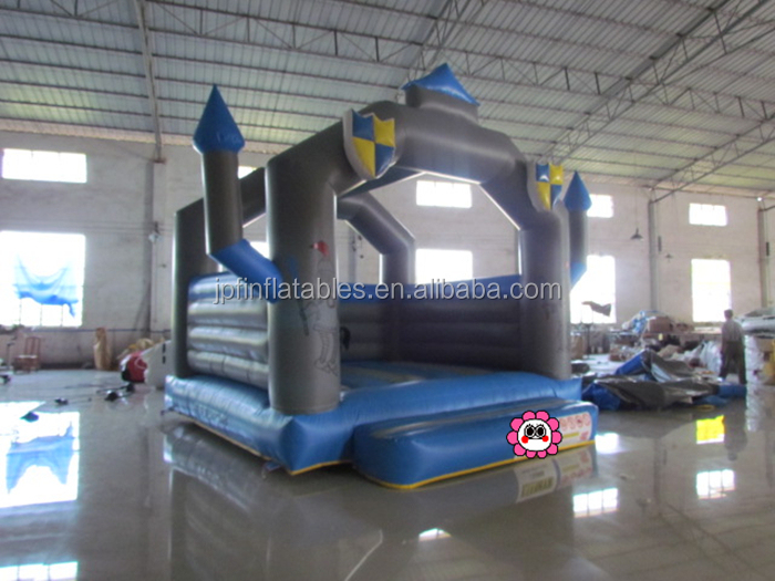 Children hero game China  inflatable bouncy castle for fighting knight