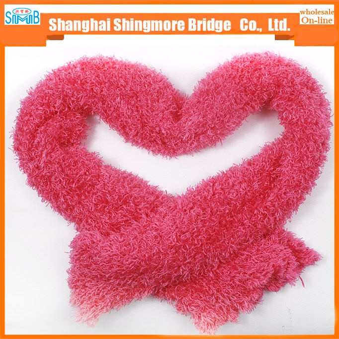 cheap wholesale good standard magic soft knitted scarf with cheap price