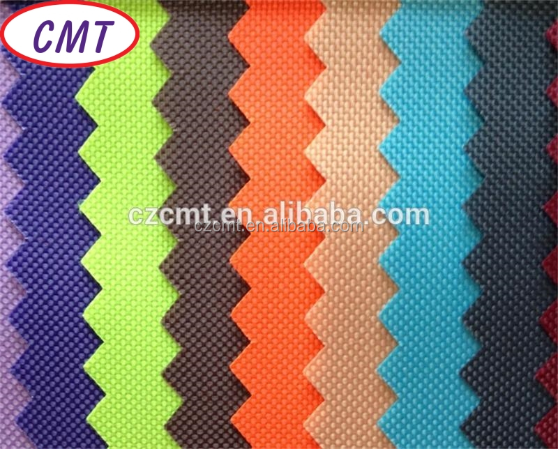 FDY 100% polyester waterproof oxford fabric 420D PVC/PU coating for handbags