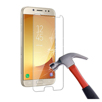 high clear 2.5D round edge anti-broken premium tempered glass screen protector for Samsung S7 edge/J3 pro/J7 prime/J5 2016/A9