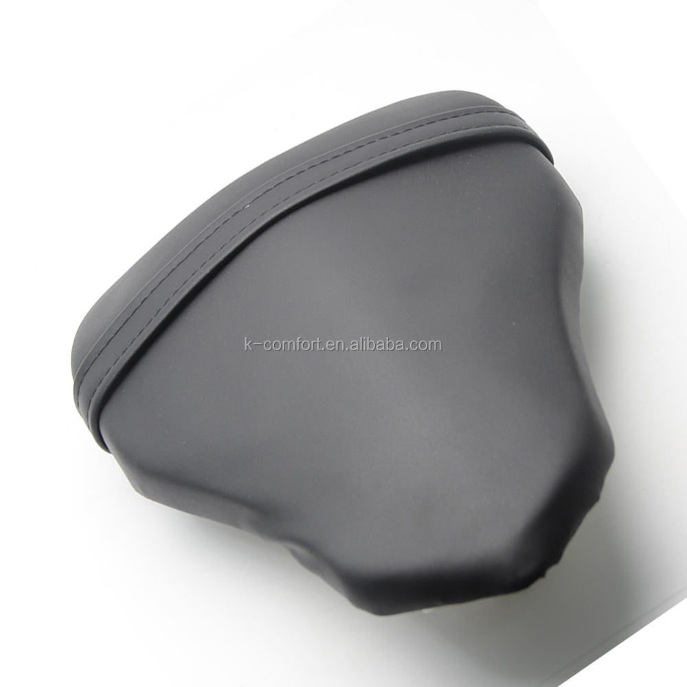 KC17MS06 Rear Passenger Leather Seat For Ducati 1098 848 1198 Black Motorcycle Passenger Rear Seat Cover Cushion Pillion