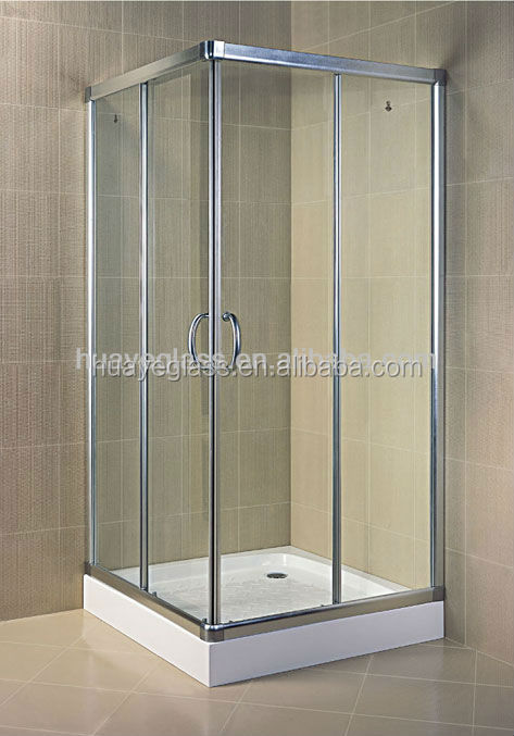Puertas de vidrio templado ideas de disenos Puertas corredizas banos