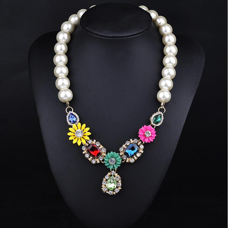 Beautiful Pearl Necklace Jewelry Latest Design Beads Necklace ...