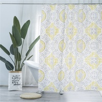 bathroom custom shower curtain liner