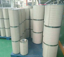 Medium effect industrial vacuum cleaner 320*1000 cylindrical air filter cartridge