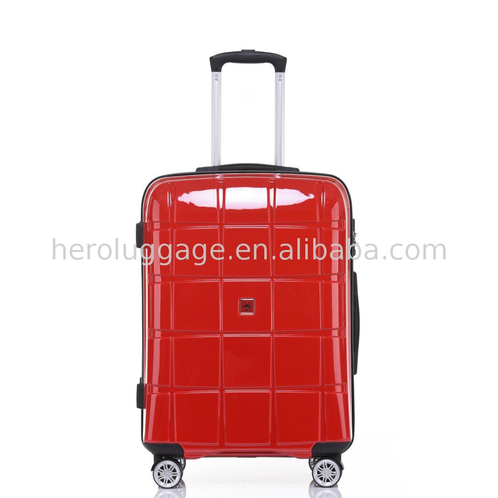 Girl elegant suitcases travel luggage for women