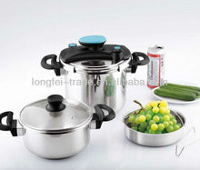 stainless steel pressure cooker 22cm mini pressure cooker 3L