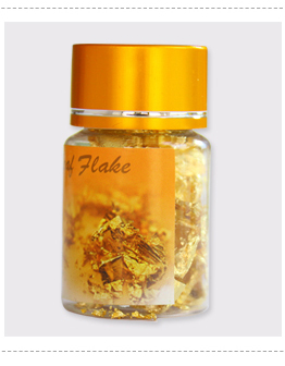 24K Asli Dimakan Daun Emas Lembar Foil Makanan Kue Dekorasi Dukungan Makanan Minum Kopi Sehat Fashion 8X8 CM Satu Buku 25Pcs