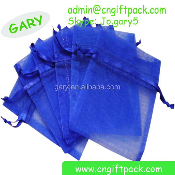 Eco Customized Organza Gift Bag Manufacturer