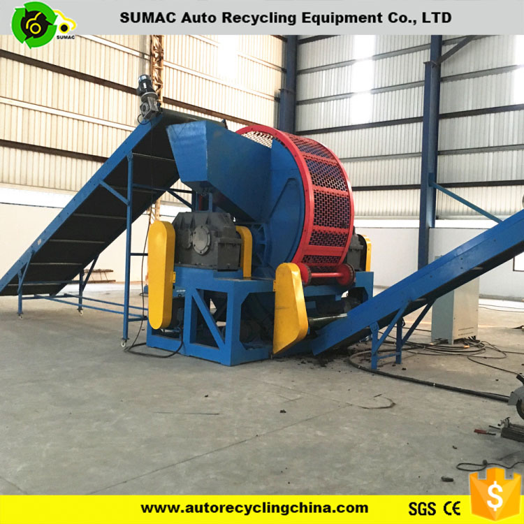 Best price used tire shredder for sale