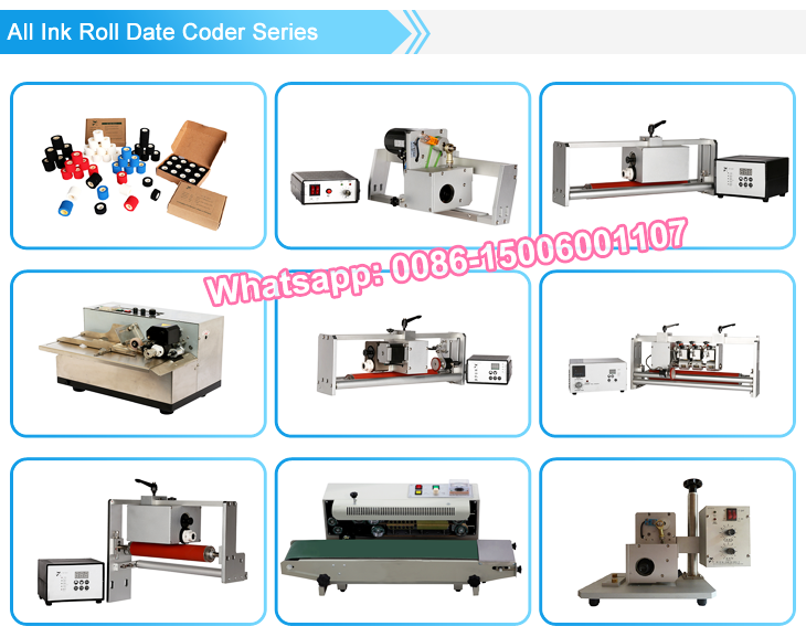 NY-810 MY-380 solid-ink wheel automatic marking/coding machine (iron shell standard)