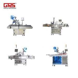 four types automatic labeling machine for adhesive tape packing