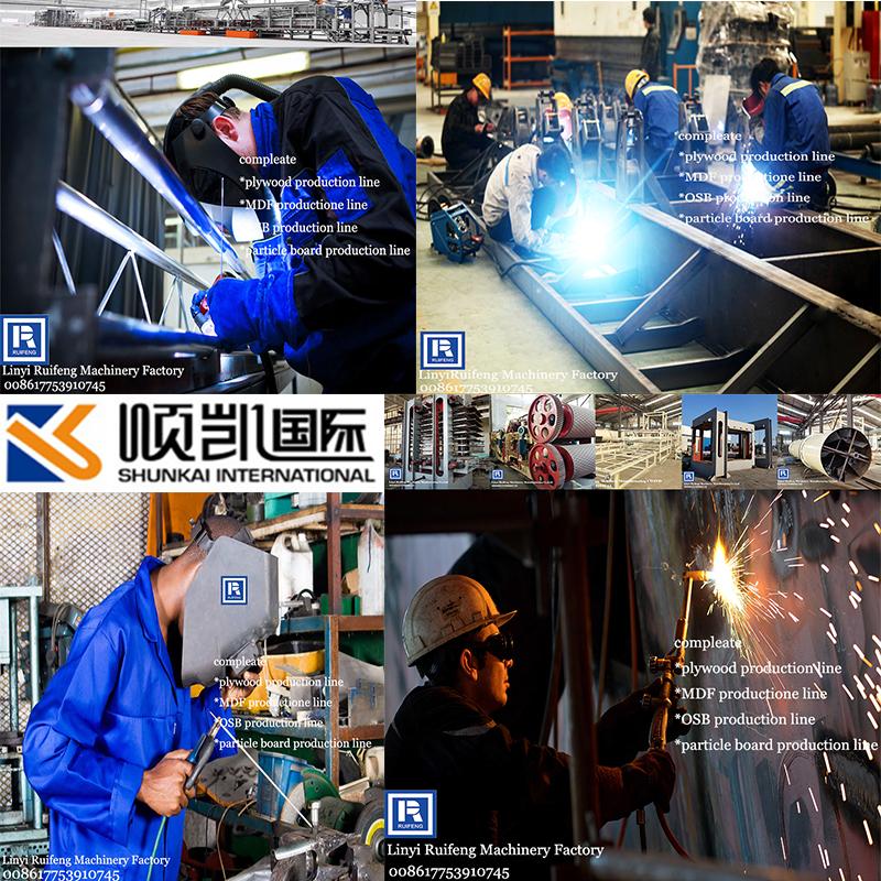 Goedkope prijs OSB productielijn/edge trim saw/OSB snijmachine