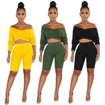 sexy sweater  clubwear women two piece outfits two piece set women clothing sexy