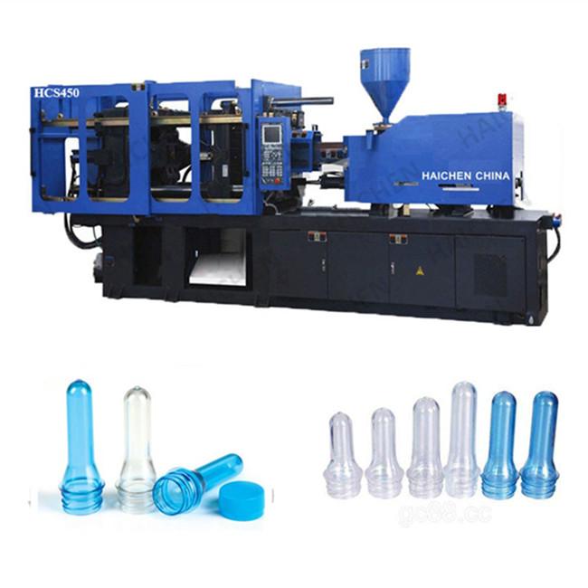 Cina Riciclare Plastica acqua olio bottiglia Preforme In Pet macchina di stampaggio a iniezione