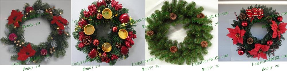 Christmas Wreath,Wholesale Artificial Christmas Wreaths - Buy ...